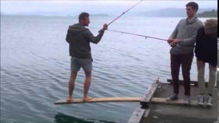 Fisch gut festhalten 11